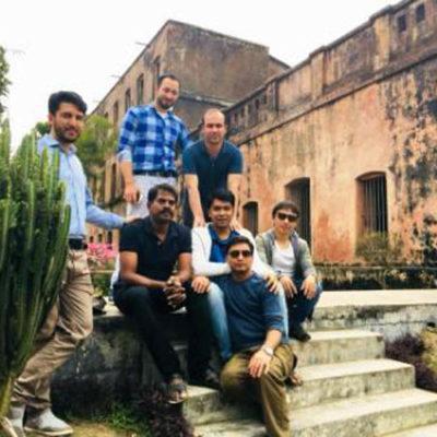 1. Historical place visit, 2018 -Baliati Jamidar Bari, Bangladesh
