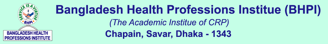 Bangladesh Health Professions Institute (BHPI)